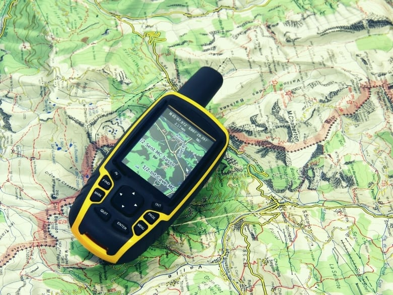 gps tool on top of map