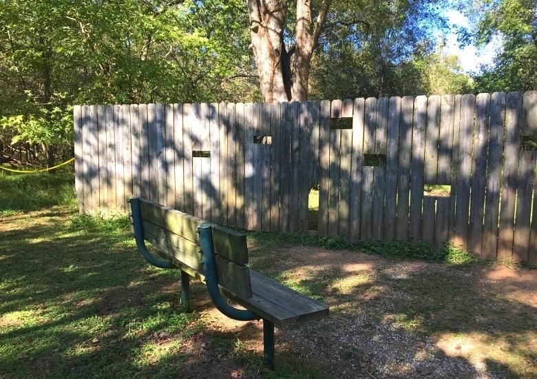 wildlife watching fence