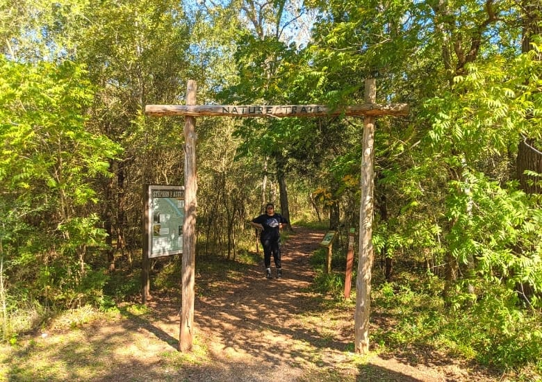 nature trail at stephen f austin state park