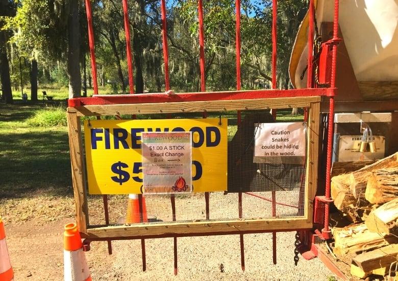firewood at stephen f austin state park