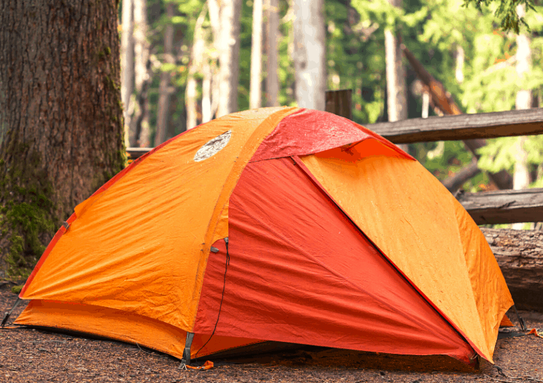 Tent for rain with rainfly